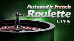 Live Automatic French Roulette