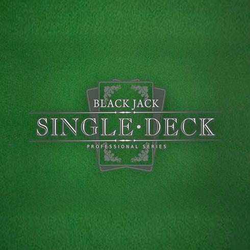 online casino single deck blackjack
